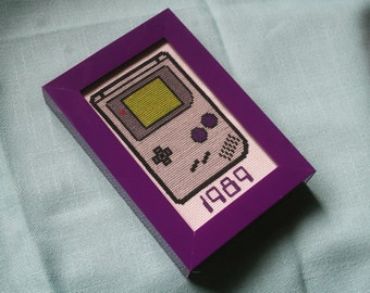 Cross-Stitch Pattern - 1989 Gameboy (PDF)