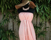 Pale Pink Summer Dress