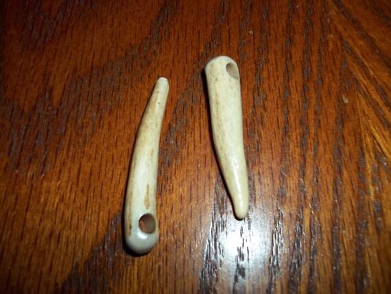 2 Antler Nalbinding Needle