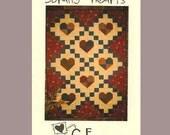 Scrappy Hearts Crib size (G.E.Designs) Quilt Pattern