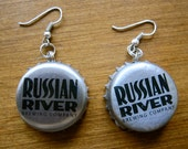 Russian River Upcycled Bottle Cap Earrings