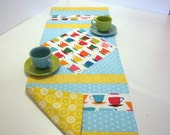 Coffee Cafe Table Runner