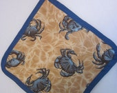 Blue Crab Pot Holder