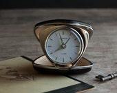 Travel Alarm Clock - Black Lonshor Wind Up