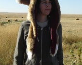 Lined Fox Hood- 15% off until December 15th