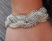 Intricate Braided Chainmaille Bracelet