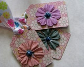 Gift Tags, OOAK, ephemera, shabby chic labels