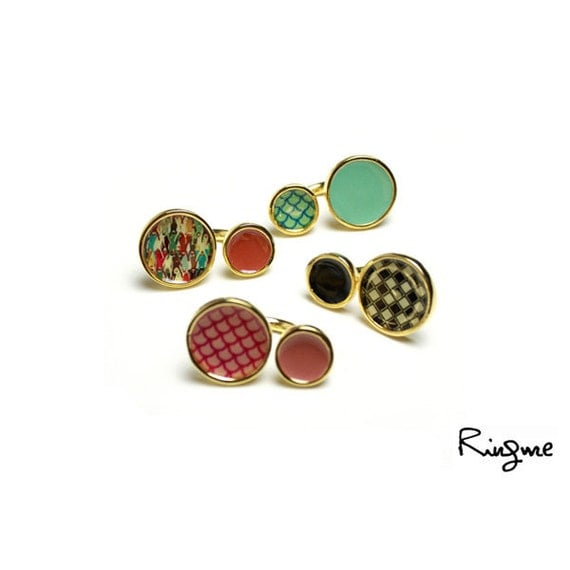 Ring Me // Contemporary Jewelry -- Double O Ring