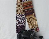 Stylish DSLR Camera Strap Cover - Made in Peru - Potpurri