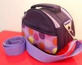 Camera Bag -  Handcrafted in Peru - Bolitas by Lu100