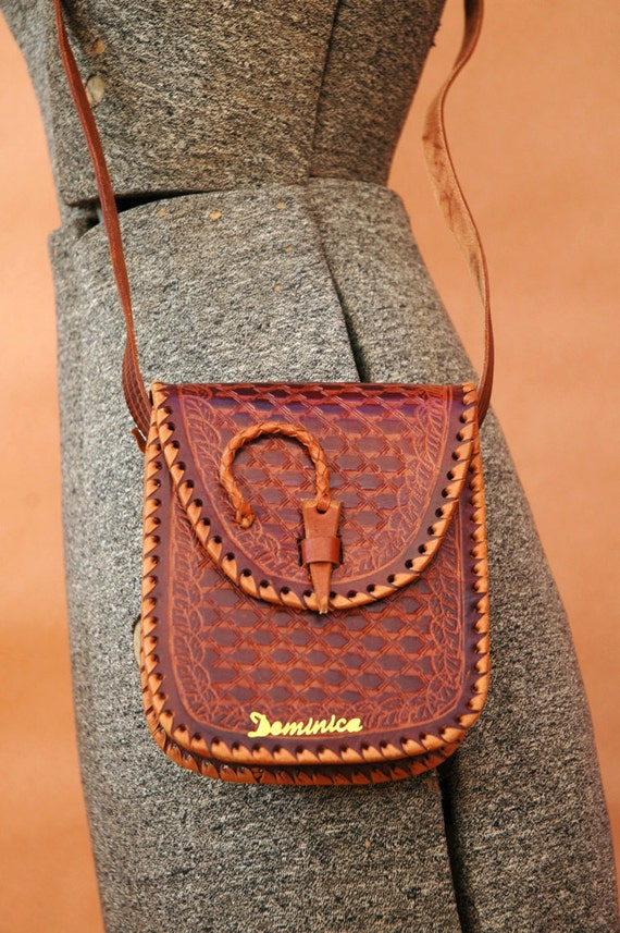 The Leather Tooled Bag