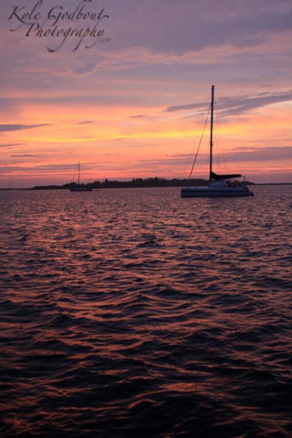 Sunset at Block Island Photo - any size