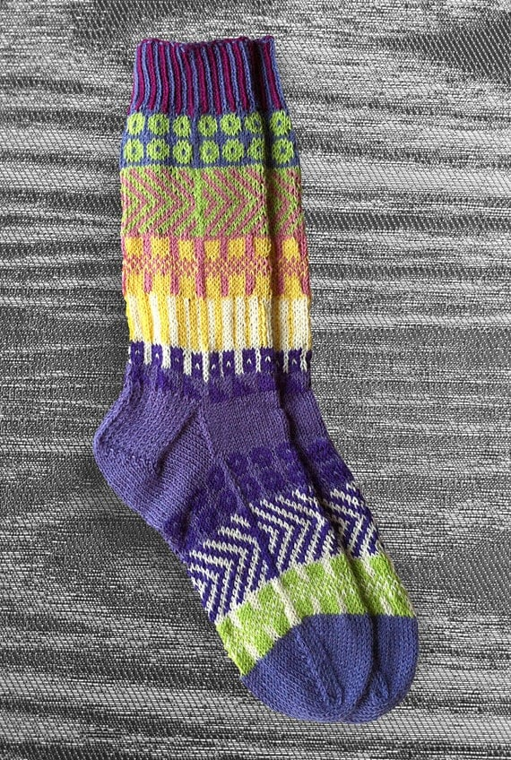 Custom order for Shannon.....   Socks, Hand Knit Unique Socks,