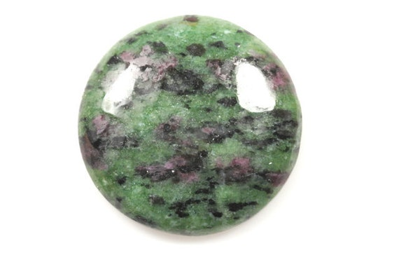 50% OFF - Ruby in Zoisite cabochon