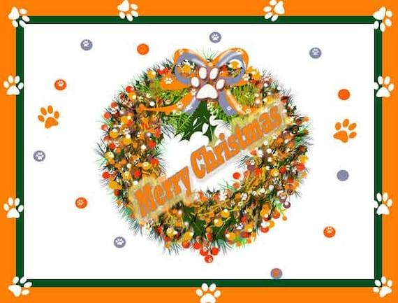 Merry Christmas Clemson Card