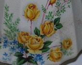 Sadler Yellow roses  Tea Pot Rare pattern