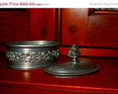 on sale Rare antique  Reed and Barton silverplate casket/trinket box