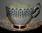 Queen Anne bone china tea cup and saucer