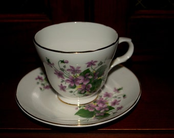 Crown Trent  cup and saucer   made in England