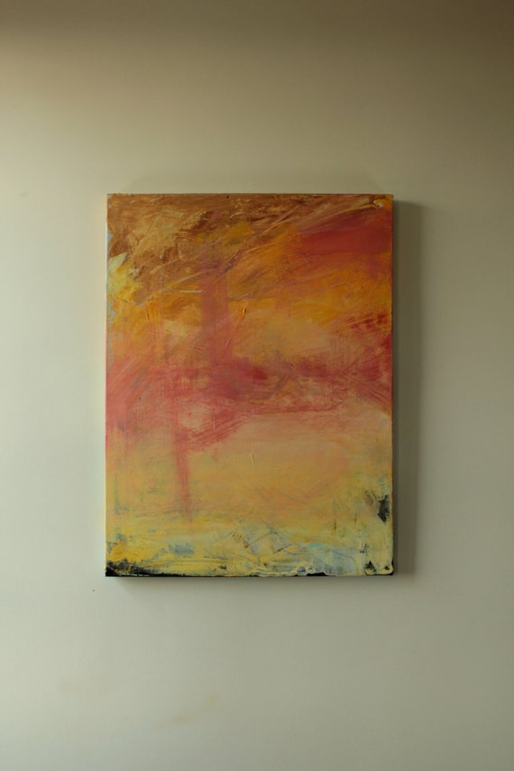 """Original Abstract Acrylic Painting by RLWII - 24 x 18 x 7/8"""""""