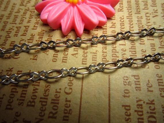 5meter(16foot) silver beautiful metal chain R23104