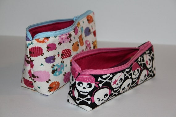 PDF Pattern for Make-up Bag / Small Pencil Case