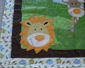 Safari Adventure Baby blanket