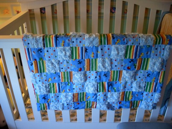 Little movers patchwork quilt