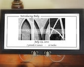 Contemporary Alphabet Photography FRAMED Name in Black and White Alphabet Letter Photos by Memories in a Snap