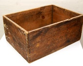 Liberty Powder Co. Explosives Wood Crate or Box