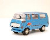 Shabby Blue Tonka Van