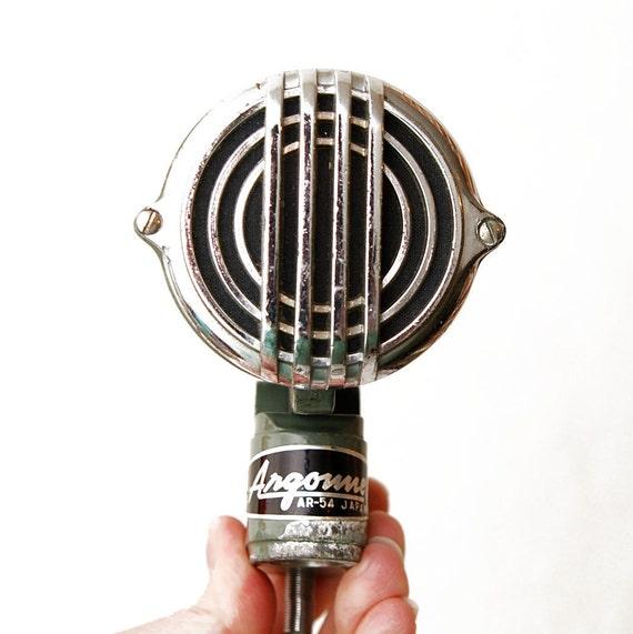 Argonne AR-54 Crystal Microphone
