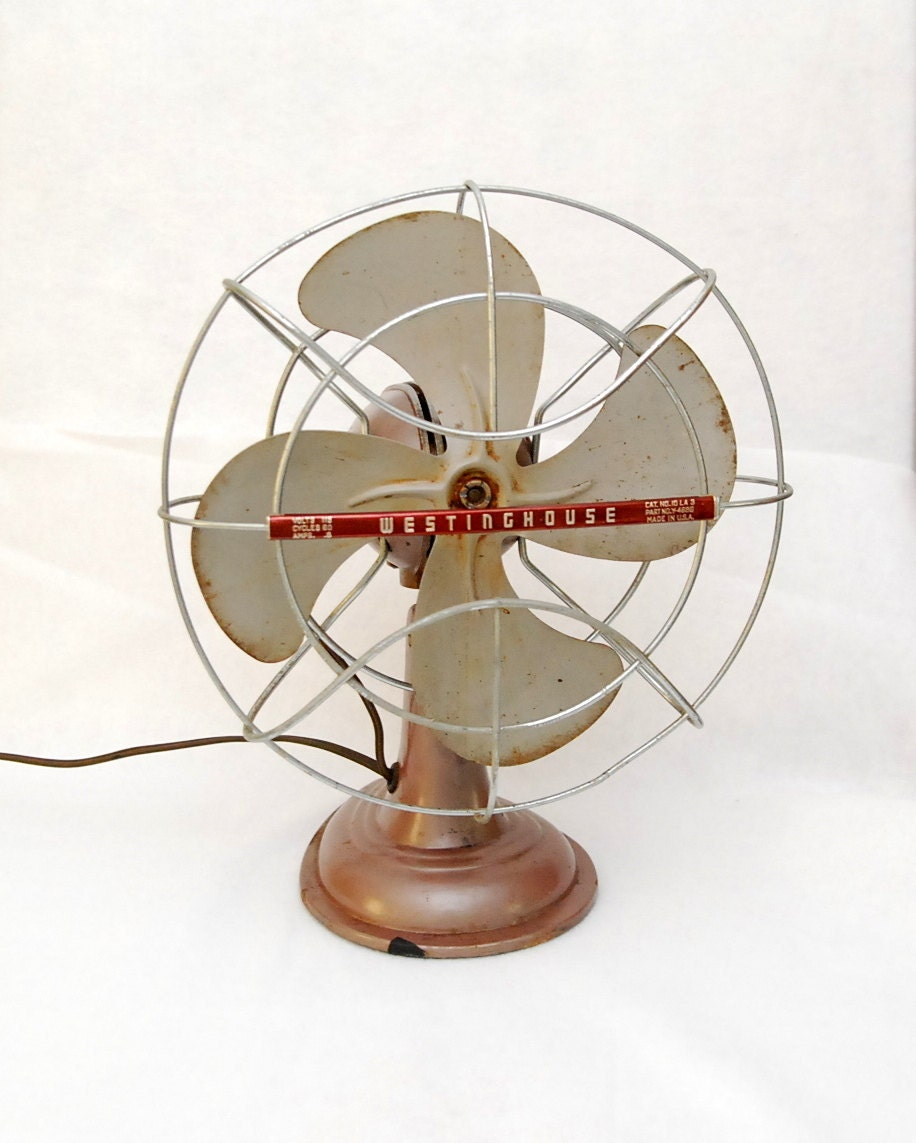 Small Table Fans : Small westinghouse table fan