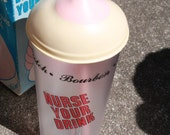 "Novelty Boob Cup ""Nurse Your Drink"""