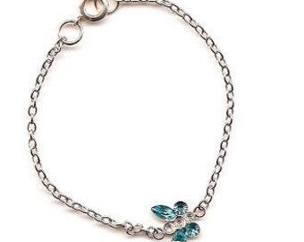 MCO Blue Butterfly Bracelet