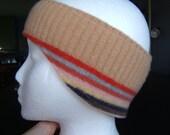 Cozy Upcycled Headband Earmuffs