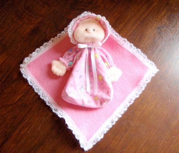 Finger Puppet - Soft Sculpture Baby Doll