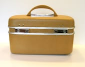 Vintage Yellow Train Case by Boyle Luggage