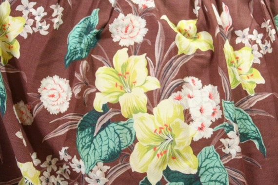 RESERVED for Elizabeth Vintage Pair Barkcloth Drapery panels 92 x 82 by Spectrum Fabrics Brown Turquoise Teal Yellow Cream Coral yards