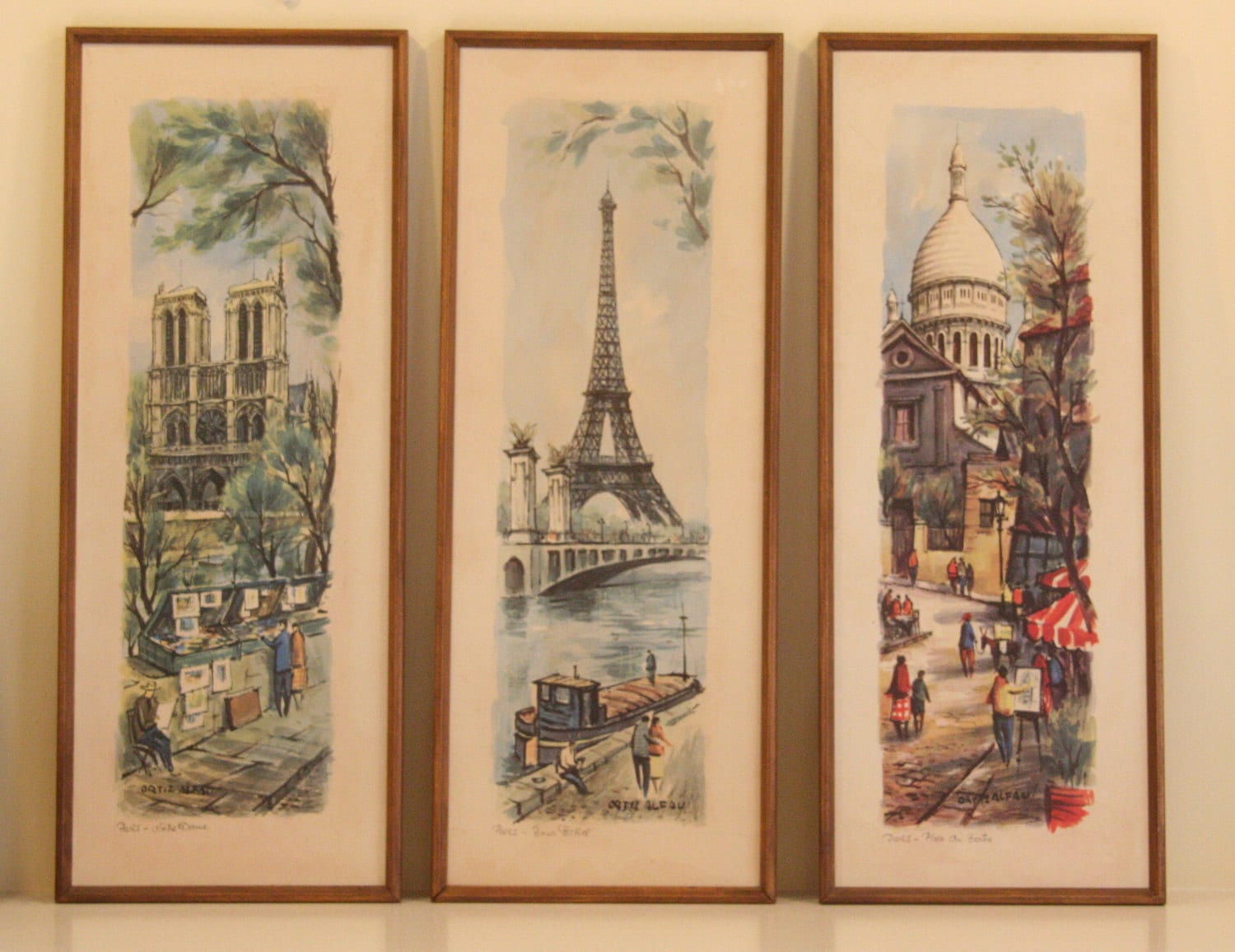 Vintage Paris Prints 111
