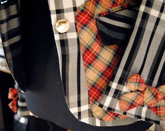 "Vintage 90 Checkered Jacket ""English Day"""