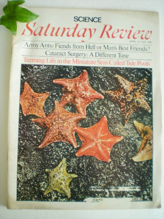 Science: Saturday Review - April 15, 1972
