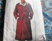 "Vintage Men's ROBE JiffY Simplicity 7741 Pattern Beginner Friendly 1976 Size Medium Chest 38"" to 40"""