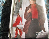 Vintage Jacket Skirt  Simplicity 7717 Pants Top Sewing Pattern - NEW Factory Folds - Beginner Friendly - 4 PC. Jiffy Wardrobe