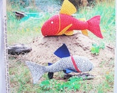 Pattern Sewing Fish Catfish RARE New in Package 1982 By Waterborn Creations Design
