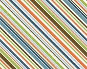 """Riley Blake - Diagonal Stripe - Brown 45"""" Wide 1 yd"""