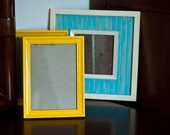 Yellow and Turquoise Frames