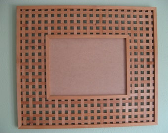 Large Wooden Frame: The Weave