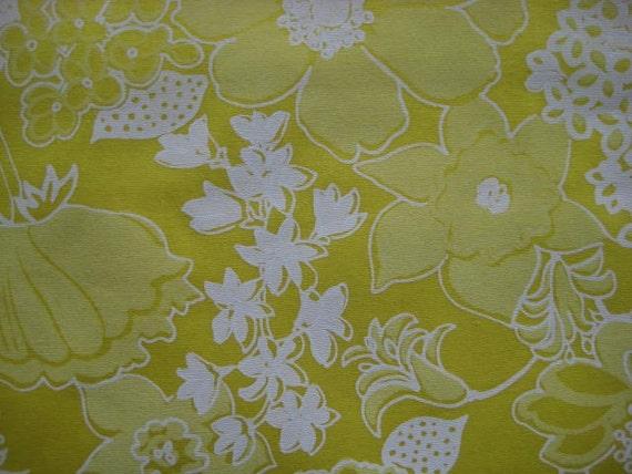 Three piece Lot of Vintage Suzie Zuzek fabric  Bees's Bouquet.
