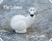 Needle Felted Shmoo OOAK Miniature Sculpture Comic / Cartoon Character